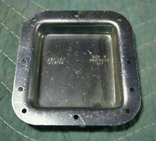 "Custom Case Hardware - 4"" x 4-11/32""  Zinc Dish - CCN1779D - 10 Hole - Case Part"