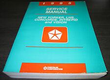 Werkstatthandbuch Service Manual New Yorker Concorde Intrepid Vision Stand 1995
