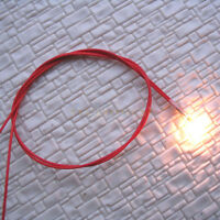 100 x Grain of Wheat 3mm Clear 6V Bulbs with 30cm wires