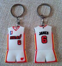 PORTACHIAVI vintage basket NBA jersey LEBRON JAMES 6 Miami HEAT