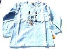 18/19 Steiff Shades Of Blue Camiseta de Manga Larga, Azul Claro Talla Gr.68-86