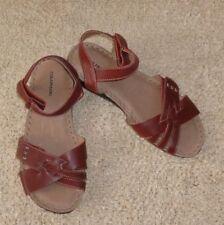 Velcro Ankle Strap Solid Sandals & Flip Flops for Women