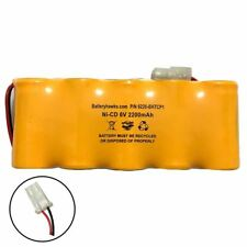 Interstate Batteries NIC0495 Ni-CD Battery Pack Replacement for Emergency / Exit