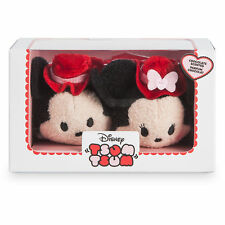 Mickey and Minnie Mouse Disney New Boxed plush Valentine Tsum Tsum Scented Tsums