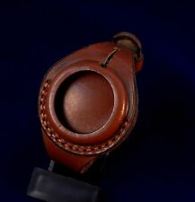 Antique WW1 times New Leather STRAP Band WRISTBAND For Pocket Watch 38-40mm WWII
