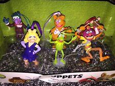 Disney Store The Muppets 6 Piece custom Ornaments Figure Set