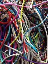 Lot of 550 Paracord Scrap, Scraps, 1/2 lbs., About 100 ft. of Assorted Colors