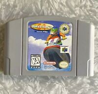 N64 Wave Race Nintendo 64 Authentic Cartridge Cleaned & Tested FREE SHIP Jet Ski