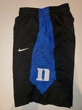 Duke Blue Devils Nike Drifit Basketball Black / Royal Blue Small Shorts