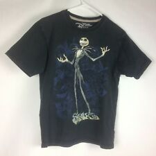 Men Tshirt Size Small Disney Nightmare Before Christmas Jack Skelington Black