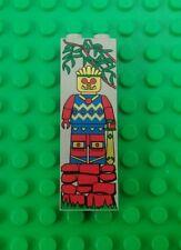 Lego Pirates Vintage 2x6 Islander Warrior Chief Witch Doctor Printed Brick x 1