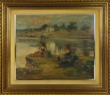 MARIANO BARBASAN LAGUERUELA (1864-1924) - OIL/CANVAS - 19TH-20TH CENTURY