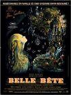 Affiche 120x160cm LA BELLE ET LA BÊTE Josette Day, Jean Marais 1946 R2013 NEUVE