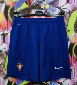 Portugal National Footbal Team World Cup 2014 Away Soccer Shorts Nike Mens L