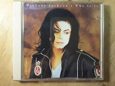 Michael Jackson  ‎– Who Is It   CD, Maxi-Single US 1993 Epic ‎- COLLECTABLE