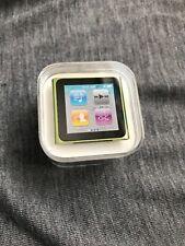 Apple Ipod Nano 6th Generación Verde (16GB) - Nuevo Sellado