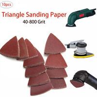 10x Schleifpapier Schleifblätter 80mm für 40/60/80/100/120/180/240/400/800 Grit