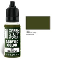 Acrylic Color GANGRENE - Brush and Airbrush Acrylic Paint Miniatures 40K GSW