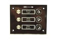 3 Gang Switch Panel