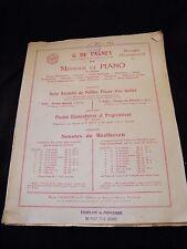 Partition Méthode de piano G de Vagney Music Sheet