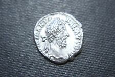 ANCIENT ROMAN COMMODUS SILVER DENARIUS COIN 2nd CENT AD