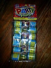 Nip 12 Pack Of Party Poppers