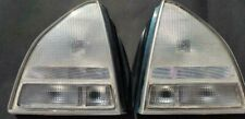 Honda Prelude 1992 1993 1994 1995 1996 SI RARE ALL CLEAR TAILLIGHT LENSES