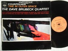 "THE DAVE BRUBECK QUARTET - "" COUNTDOWN : TIME IN OUTER SPACE "" VINYL LP SPAIN"