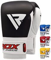 RDX Elite Boxing Gloves Training Sparring Punching Glove Fighting Bag Muay Thai