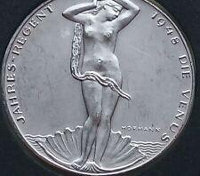 1948 Austria Bronze calender & venus medal, uncirculated