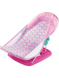 Summer Infant Deluxe Baby Bather - Pink Excellent LN Condition