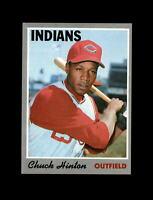 1970 Topps Baseball #27 Chuck Hinton (Indians) NM