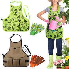 More details for garden tool aprons handy cuttings bag gardening equipment adjustable, 56x60 uk