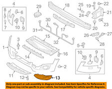 AUDI OEM allroad Front Bumper-Lower Bottom Grille Grill Right 8K0807682H01C