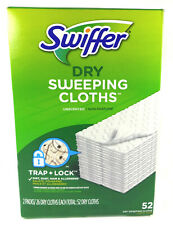 Swiffer Sweeper Multi Surface Dry Sweeping Pad Refills, Unscented (52 Count)