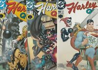 HARLEY QUINN  7 COMIC BOOK LOT FPLUS TO NM   BEAUTIFUL COMICS