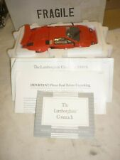 A Franklin mint scale model of a 1982 Lamborghini Countach 5000s, boxed