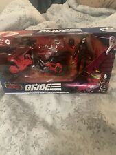 GI Joe Classified Series Baroness with Cobra COIL Target Exclusive MISB IN HAND