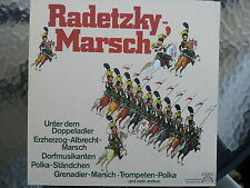 """12"""" Radetzky-Marsch - Supraphon ---"""