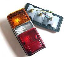 Pair Tail Rear Light Lamp fits 80-90 Toyota Land Cruiser HJ BJ FJ60 61 62 Pickup