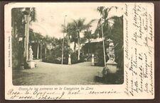 Peru Old Postcard Ciosco De Las Palmeras en la Exposicion de Lima 1903