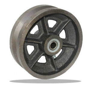 "6"" V-Groove Wheel - 500 lbs capacity"