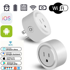 Smart Socket Outlet Adapter Plug Switch Wifi For Android & IOS Amazon Alexa Echo