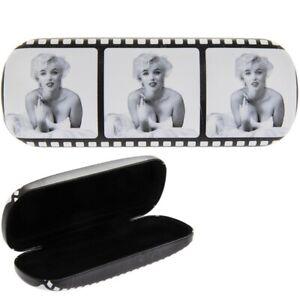 NEW -  Marilyn Monroe Film Strip Hard Glasses/Sunglasses Case - Birthday Gift