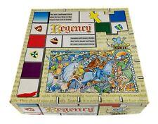 REGENCY - MEDIEVAL STRATEGY BOARD GAME - VINTAGE 1992 - COMPLETE