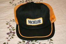 Vintage Michelob Beer Snapback Trucker Hat Cap Swingster Brand