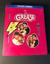 Grease 3-Movie Collection [ Limited Edition STEELBOOK ] (Blu-ray Disc) NEW