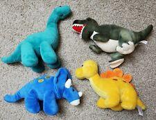 Prextex Dinosaur Dino Plush Lot stuffed animals cute guc t-rex triceratops bront