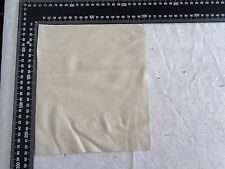 Brand New CREAM 24x22cm,1 Piece GENUINE LEATHER-SCRAPS, OFF CUTS for CRAFTS