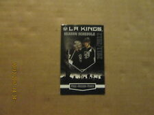 NHL Los Angeles Kings Vintage Circa 2011/2012 Logo Hockey Pocket Schedule
